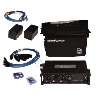 קיט מיקסר נייד 633KIT תוצרת SOUND DEVICES