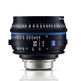 Zeiss CP.3-2.1/50 E Mount-metric Scale