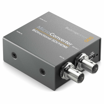 ממיר דו כווני Blackmagic Micro Converter BiDirect SDI/HDMI wPSU
