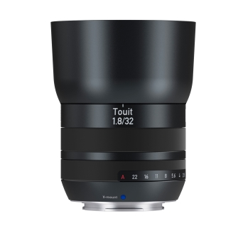 עדשת עדשת ZEISS Touit 32mm f/1.8 למצלמות FUJI X-MOUNT