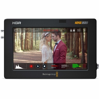 "מוניטור מקליט 5"" Blackmagic Design12G HDR Video Assist"